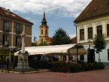 Central square with Ascension Church tower