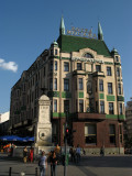 Sunny afternoon over Hotel Moskva