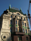 Hotel Moskva and fountain