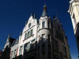 Art Nouveau building along Pikk
