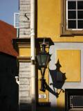 Street corner lantern