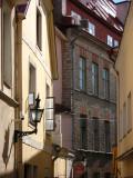 Lantern and bending Voorimehe Street