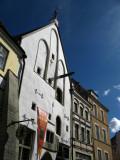 Facades facing the square