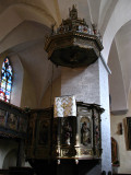 Baroque pulpit, Holy Spirit Church