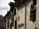 Banners outside the Olde Hansa