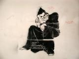 A little macabre graffiti