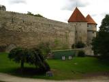 Pair of towers overlooking the Danish King's Garden