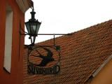 Lantern and cast-iron sign, Toompea