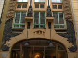 Art Nouveau building at Pikk 18
