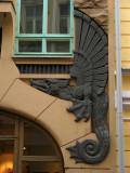 Art Nouveau detail, Pikk 18