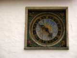 Medieval clock on Pikk