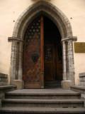 Gothic doorway into the Estonian History Museum