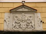 Crest on St. Olaus' Guild