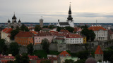 Toompea viewed from St. Olaf's Church