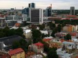 Tallinn's modern business district