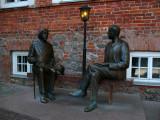 Oscar Wilde and Eduard Vilde Monument
