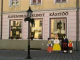 Facade of a souvenir store on the square