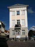 The leaning Art Museum of Tartu