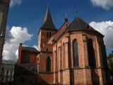 Behind St. John's Church