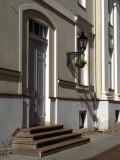 Doorstep and lantern on Rüütli