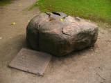 Sacrificial stone on Toomemägi