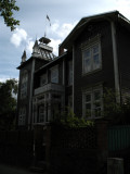 Ornate wooden house on Jakobi