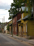Rows of wooden houses, Supilinn
