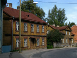 Street at the edge of the Supilinn quarter