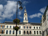 Lamppost and Town Hall