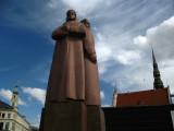 Latvian Riflemen Statue