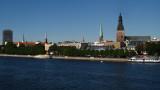 The many spires of Hanseatic Rīga