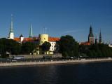 Riga Castle from over the Daugava