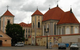Neo-Romanesque section of St. George's Church