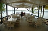 The Manet Paradise resort on the Volta river