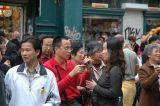 Tourists at Manneken Pis