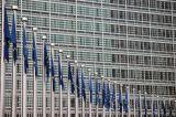Closeup of the Berlaymont building