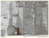Karnak in 1908 and in 2008