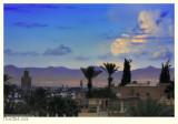 Atlas as seen from the El Badi Palace