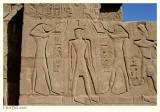 Horus and Thoth purify Pharaoh