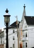Lamp on Pleasant Street in the Flint District