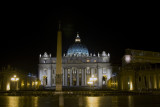 San Pietro in Vaticano Night