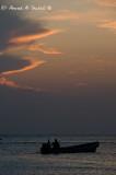 Fishermen in Qurum Beach