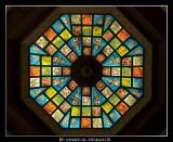 Glasswork in Matrah Souq Roof