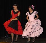 Women in Spanish dresses International Night 2006 _DSC0440