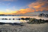 Coral Sea Resort sunset ~