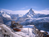 The Matterhorn as seen from Gornergrat, Switzerland - 1981