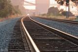 Train Rolling Through The Carquinez Strait