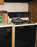 The stove area - before