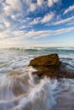 Sky, Surf, Rock