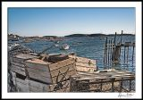Stonington Harbor 2--with lobster traps